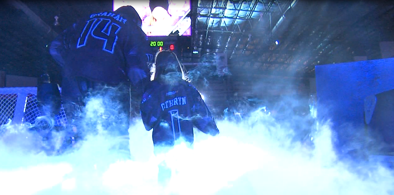 "The Tri-City Storm honor seven young kids as this years ""Sammy's Superheroes"" (NTV News)"
