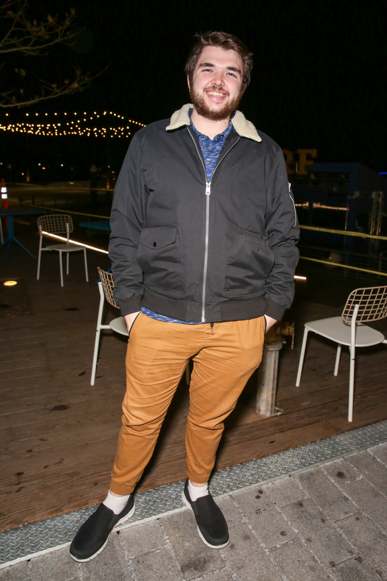 Dustin Wright is a lot more fashionable than us, the beard just adds to it.{&amp;nbsp;}(Amanda Andrade-Rhoades/DC Refined)<p></p>