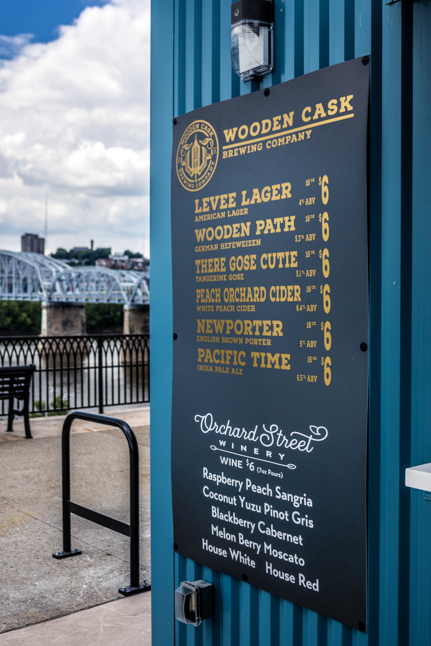 Wooden Cask Brewing Company is a Northern KY brewery that focuses on traditional English, Scottish & Irish style beers. / Image: Catherine Viox // Published: 6.25.20