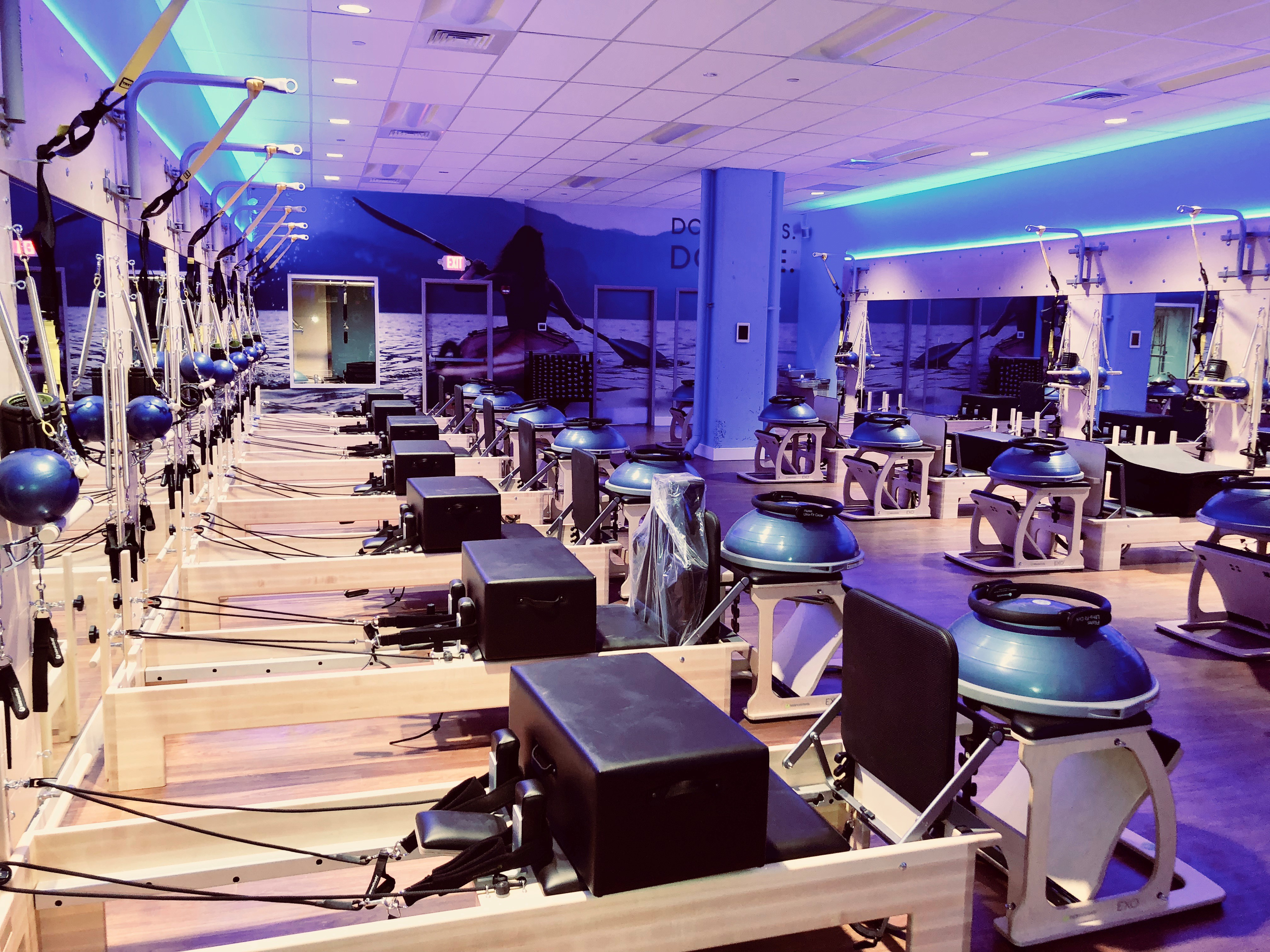 Club Pilates, a reformer-based Pilates studio founded in Costa Mesa, CA in 2007, is bringing its 50-minute modernized Pilates classes to the DMV with the opening of a location in Pentagon City. (Image: Courtesy Club Pilates)<p></p>