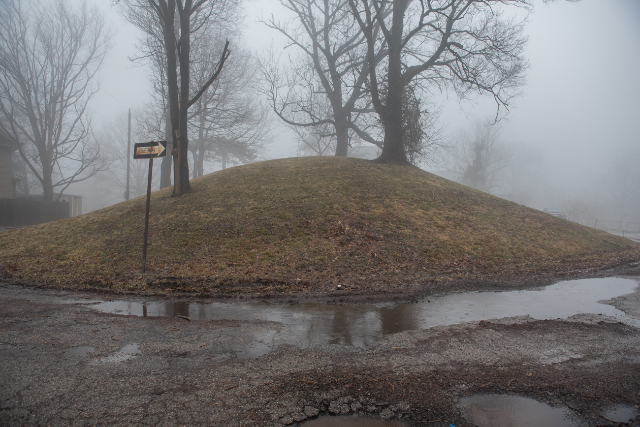 The Norwood Mound is a Native American earthwork that dates back to a time long before the settling of Norwood. The elliptical hill is around 100 feet in diameter and over 15 feet high. Researchers believe the Adena culture may have used the mound for religious ceremonies and smoke signals, as it sits on the highest point in Norwood. Relics discovered near the sit by early settlers of Norwood were collected and are said to be some of the original artifacts in the Cincinnati Art Museum's Native American Art Collection. The mound is located within Norwood's Water Tower Park. ADDRESS: 2413 Indian Mound Avenue (45212) / Image: Mike Menke // Published: 2.14.19