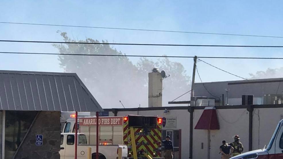 Amarillo Fire Dept. Battles Fire At Southwest Amarillo Furniture Store