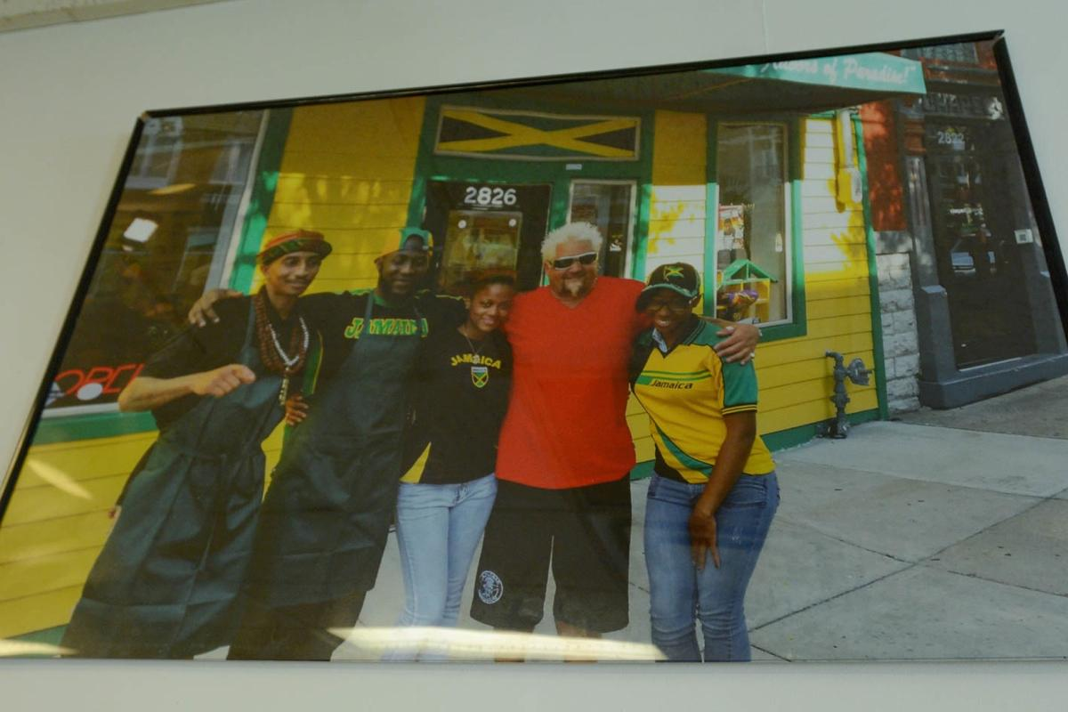 "<p>PLACE: Island Frydays / ADDRESS: 2826 Vine Street (Corryville) / EPISODE: Season 21, Episode 4: ""Worldwide Flavorfest"" / Jamaican-born chef and former UC football player Leo Morgan cooks up flavorful Caribbean fare behind the bright yellow and green facade of Island Frydays on Short Vine. Guy tried the jerk chicken and traditional Escovitch Snapper fish when he stopped by. / Image: Dan Sullivan // Published: 8.18.19</p>"