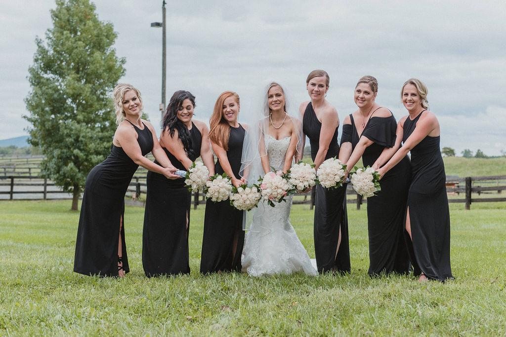 "Summer says the thing she was most excited about for her wedding sday was ""having all my loved ones in a single place."" (Image: Chris Ferenzi)"