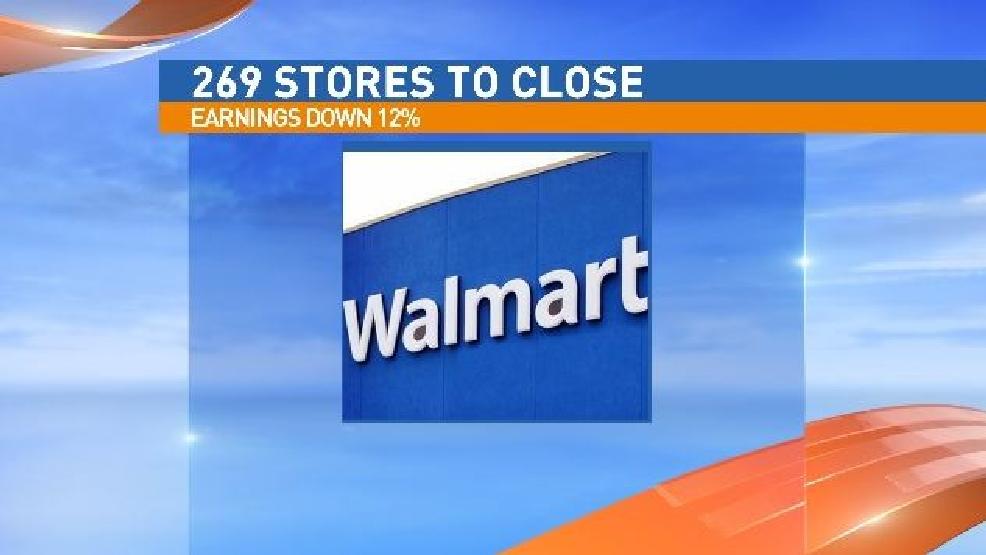 walmart closing 269 stores
