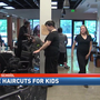 Free haircuts for students