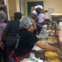 South Bend students serve Thanksgiving dinner at YWCA