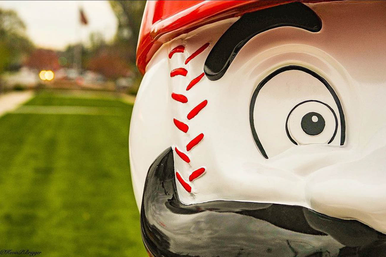 Beauty is in the eye of the baseball beholder. / Location: Oakley Square / Uniform: 1990 / Image courtesy of Instagram user @kevinbrigger // Published: 5.14.19kevinbrigger