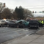 One in serious, one in critical condition after eight-car crash in Taylorsville