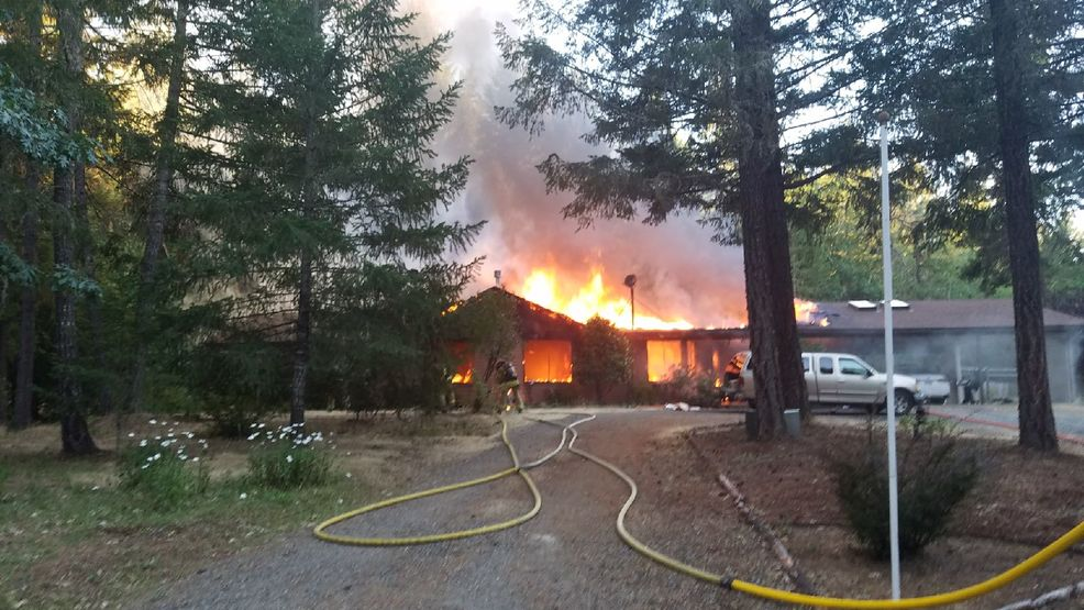 Two Alarm Fire Rips Through Grants Phome