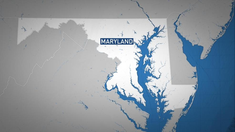 Map of Maryland ABC7 Maryland State Police