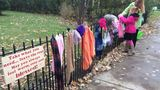 Goshen family continues spirit of giving with 'Blessing Fence'