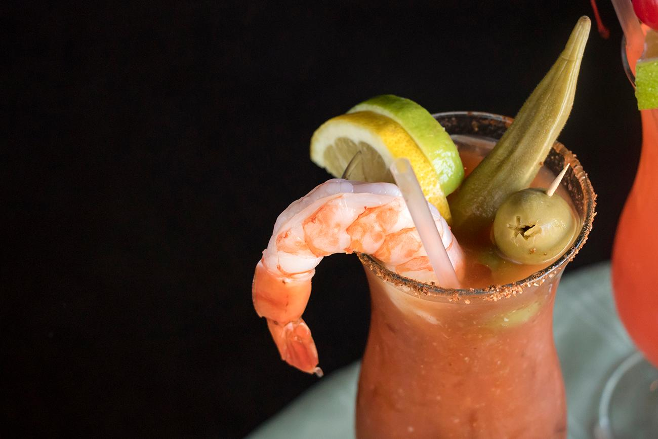 <p>Cajun Bloody Mary / Image: Allison McAdams // Published: 3.7.18</p>