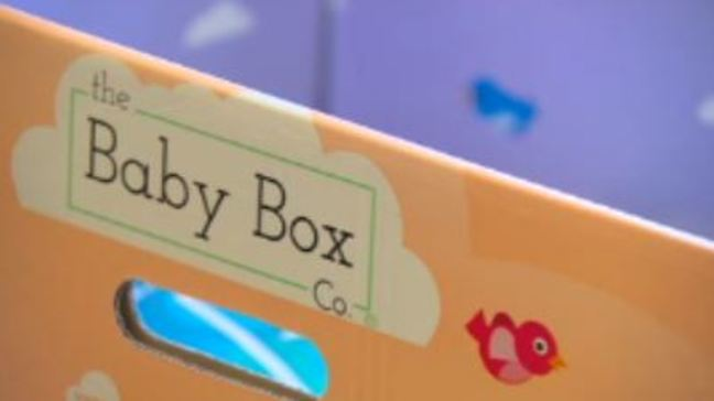 Preventing infant death with a box