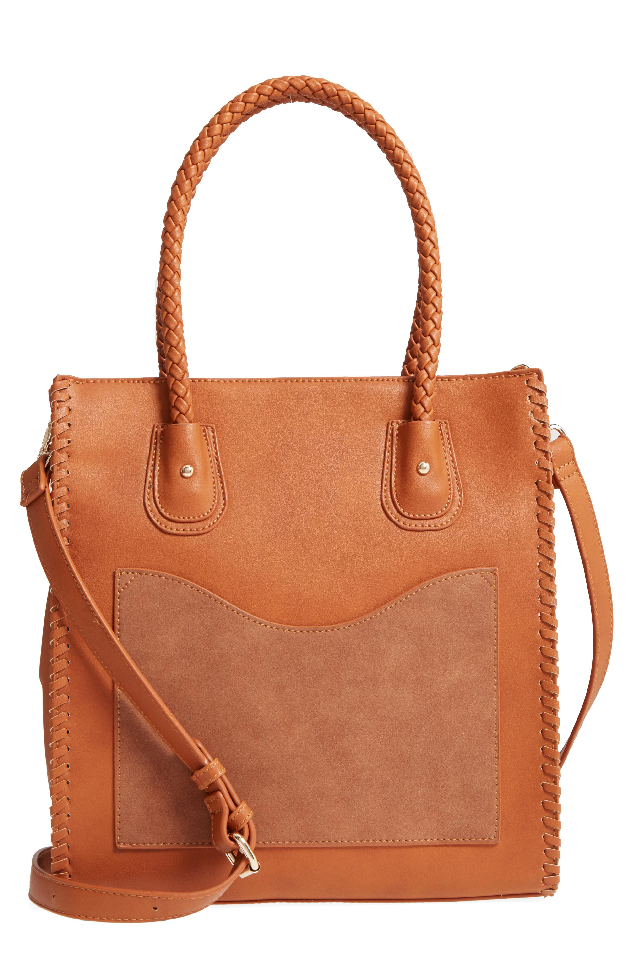 Emperia Whipstitch Faux Leather Tote from Nordstrom // Price: $49.00 //{&amp;nbsp;}(Image: Nordstrom // Nordstrom.com){&amp;nbsp;}<p></p>