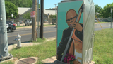 Artist paints East Austin mural dedicated to bombing victim