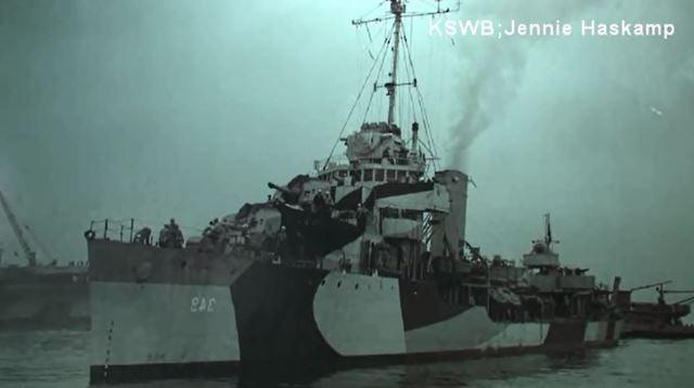The USS Dewey was one of the few ships that got out of Pearl Harbor.