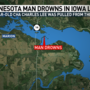 Minnesota man drowns in Iowa trying to save niece