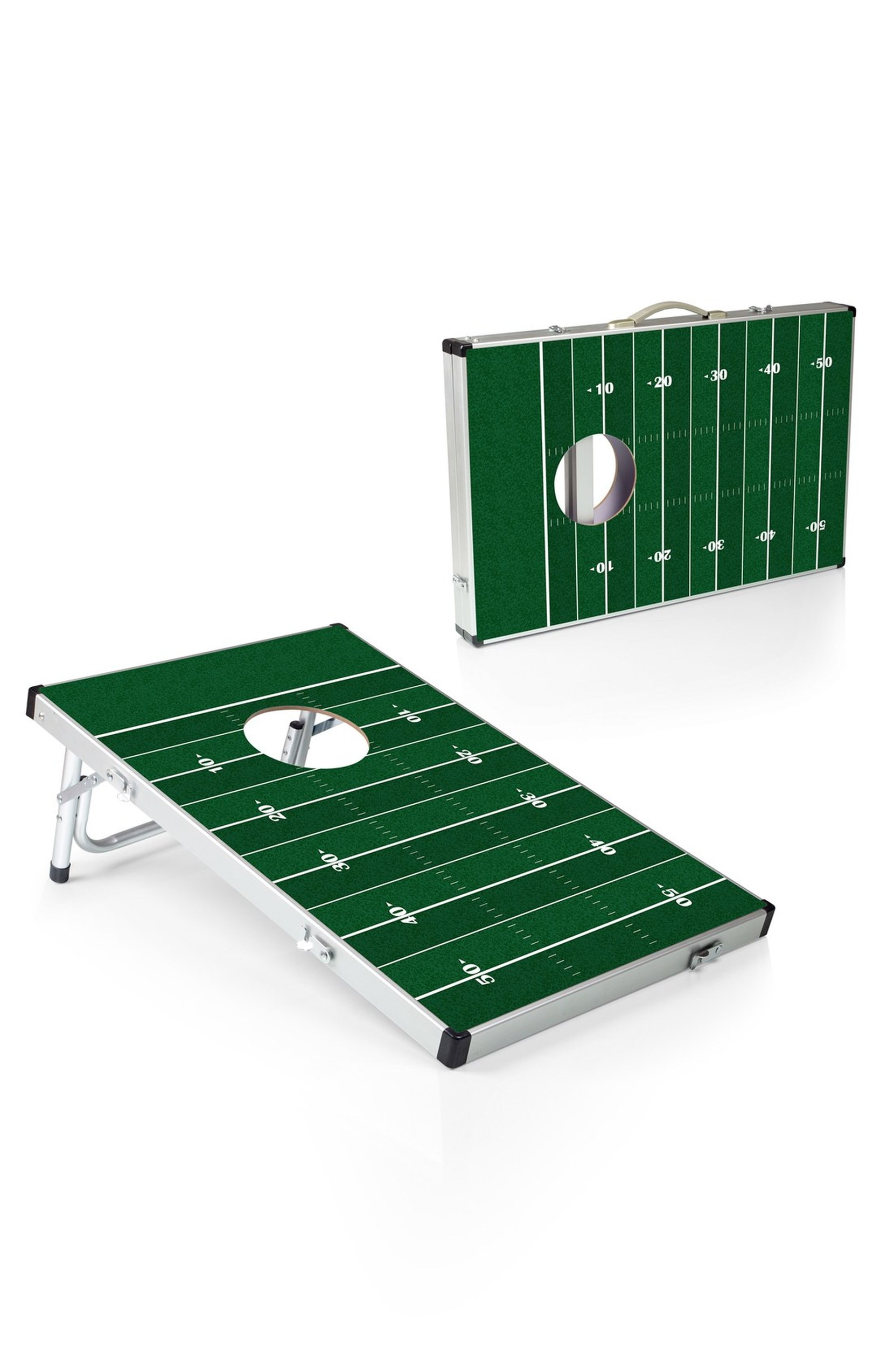 Make dad feel like he's back in the good ole days of college again. He will get hours of outdoor fun with this classic game modeled after a football field. To win kid of the year, throw in a 6 pack. $99.95 (Image: Amazon)