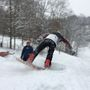 Kids use snow day for fun on the slopes at Swiss Valley