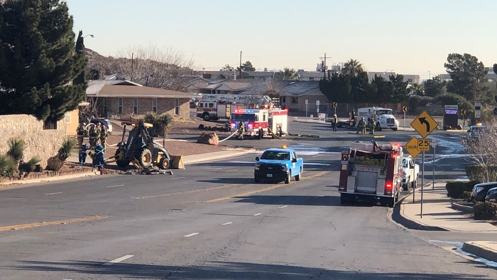 Gas Leak Reported In Central El Paso Kfox