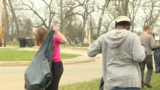 Residents clean up near west side of South Bend