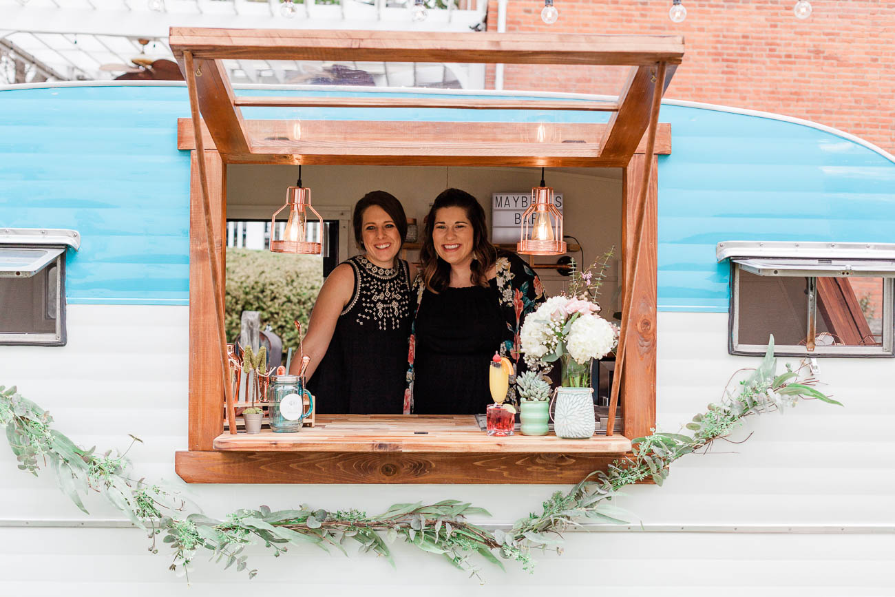 Nicole Hart (lead event coordinator) and Meggie Wainscott Martin (director of operations) / Image: Jennifer Kruskamp // Published: 8.9.19