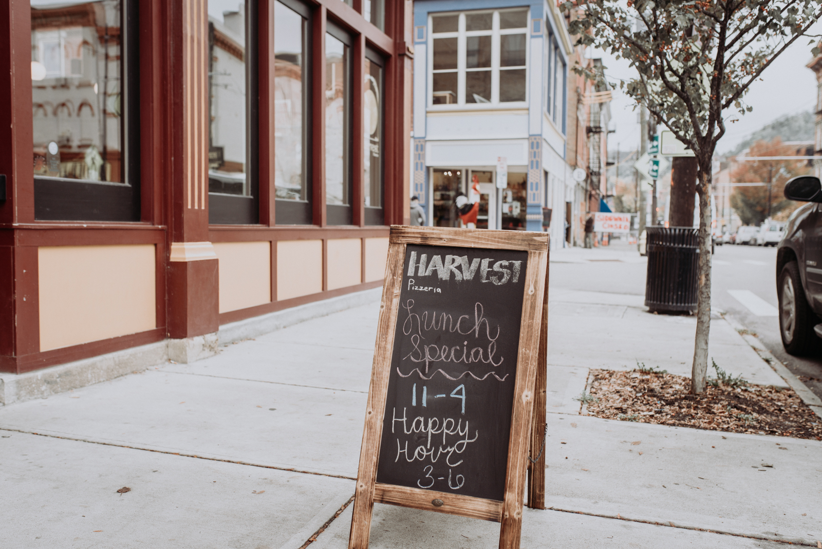 Harvest Pizzeria, located across from Findlay Market on Elm Street, uses wood-fired ovens and unconventional toppings to bring Cincinnatians a taste of what Columbus has been enjoying for years. Their ingredients are culled from sources around the region, making their pizza a true Midwestern product. Additionally, the restaurant serves burgers, salads, and various appetizers fitting multiple dietary requirements. ADDRESS: 1739 Elm Street (45202) / Image: Brianna Long // Published: 11.8.17