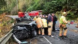 3 taken to hospital after head-on crash in Federal Way