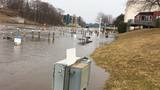 Flooding from 'seiche' damages property near lakeshore in Manistee