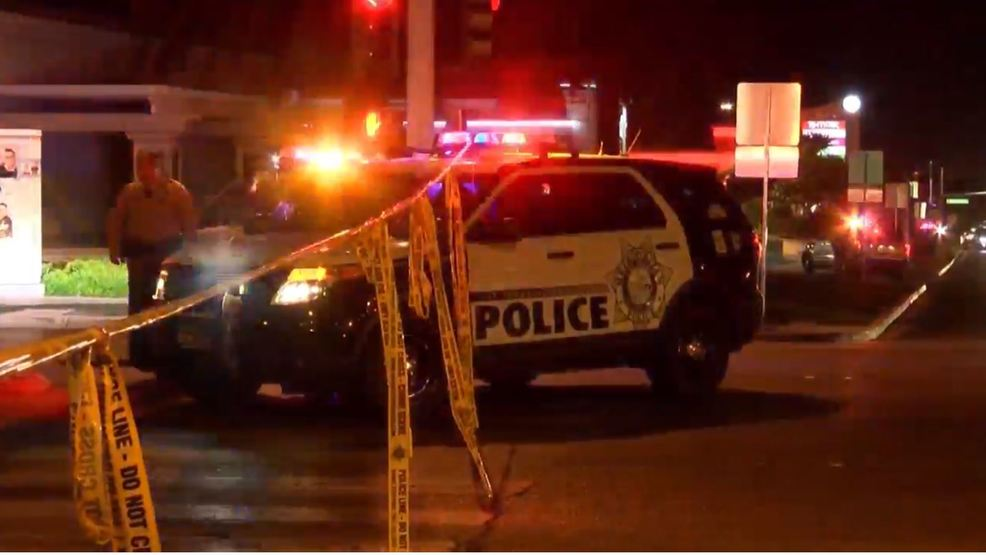 LVMPD identifies officer who shot armed suspect at northwest Vegas gas station