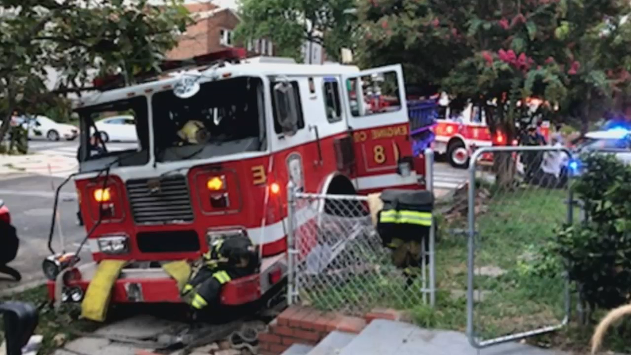 Estimated $100K in damages reported after two fire trucks collide in D.C. (ABC7)