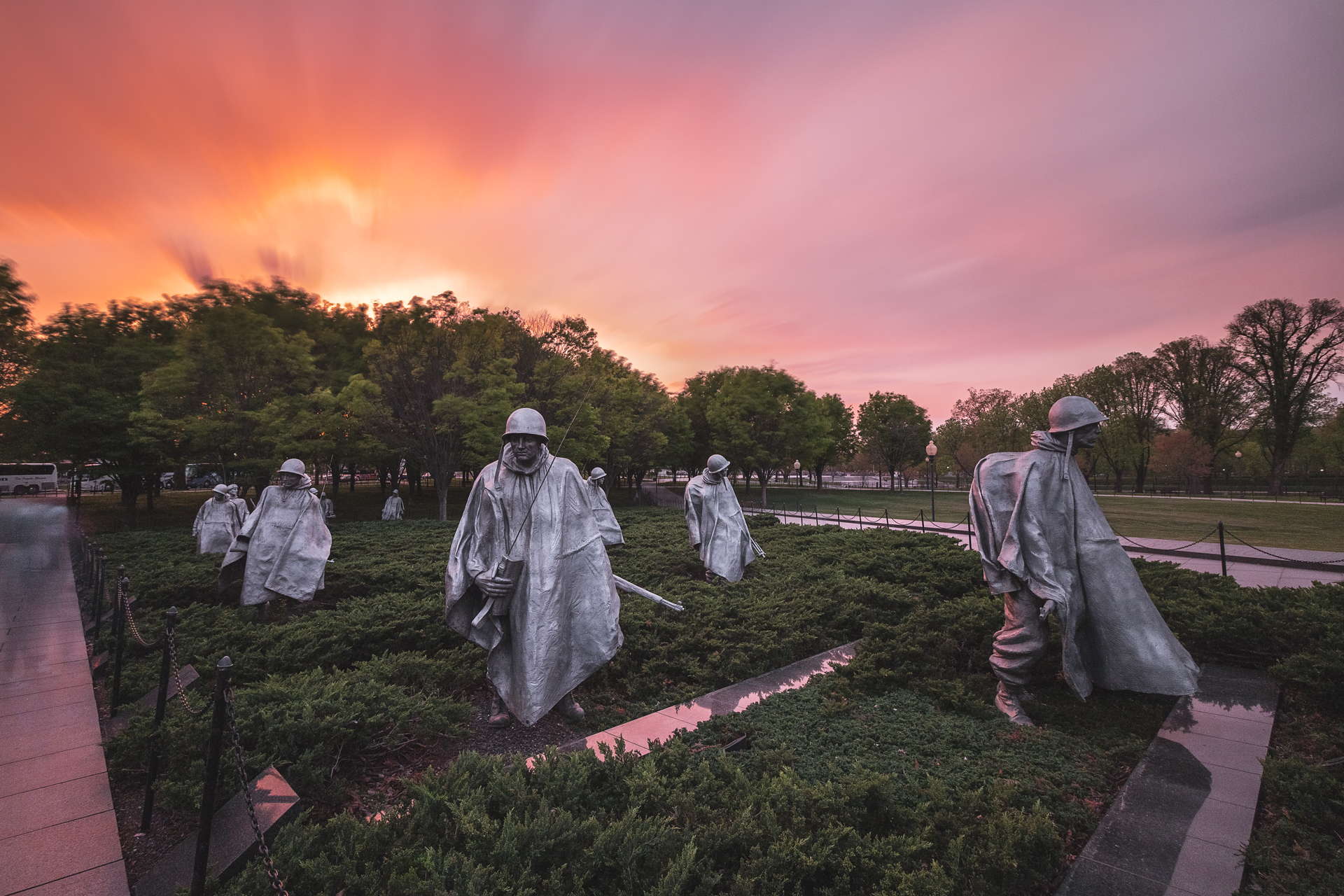 Korean Veterans War Memorial (Image: Zack Lewkowicz)