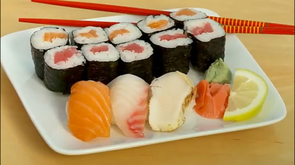Attorney general local restaurants mislabeled sushi komo for Sashimi fish crossword