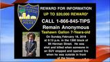 $20,000 offered to find young boy's killer in Florida