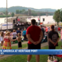 Fourth of July spirit, fireworks illuminate Wheeling Heritage Port