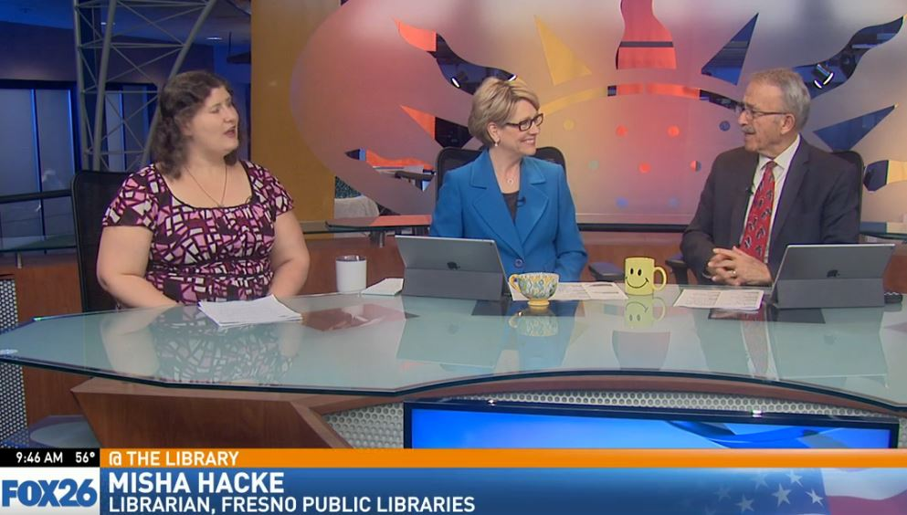 This month, librarian Misha Hacke, visited Great Day to talk about The Big Read.
