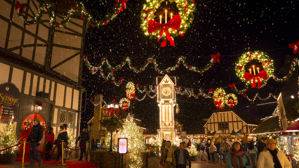celebrate the spirit of the season at busch gardens christmas town enjoy heart warming shows holiday dining and shopping amid the glow of more than 10