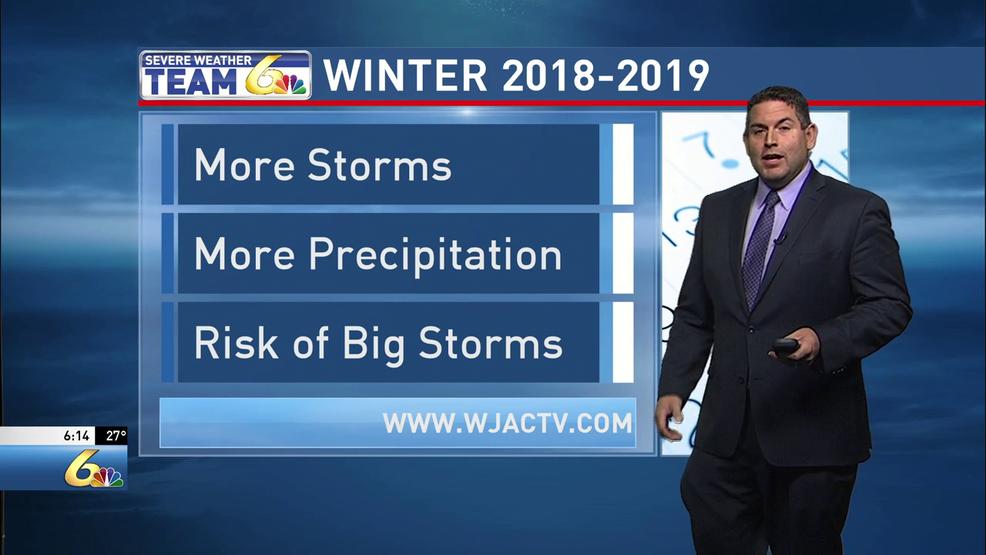 Tony Martin's Wintercast 2018 | WJAC
