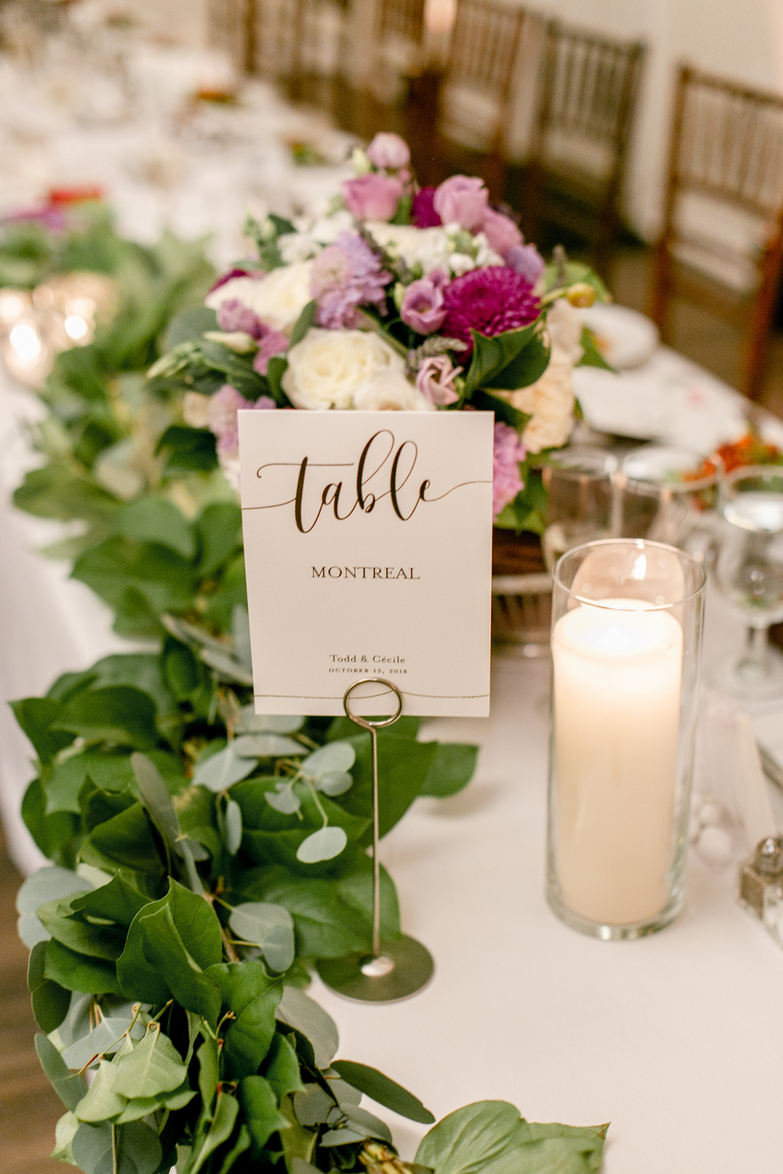 Caterers: Celebrations Cuisine (Image:{ }Cecilie Olaussen Photography)