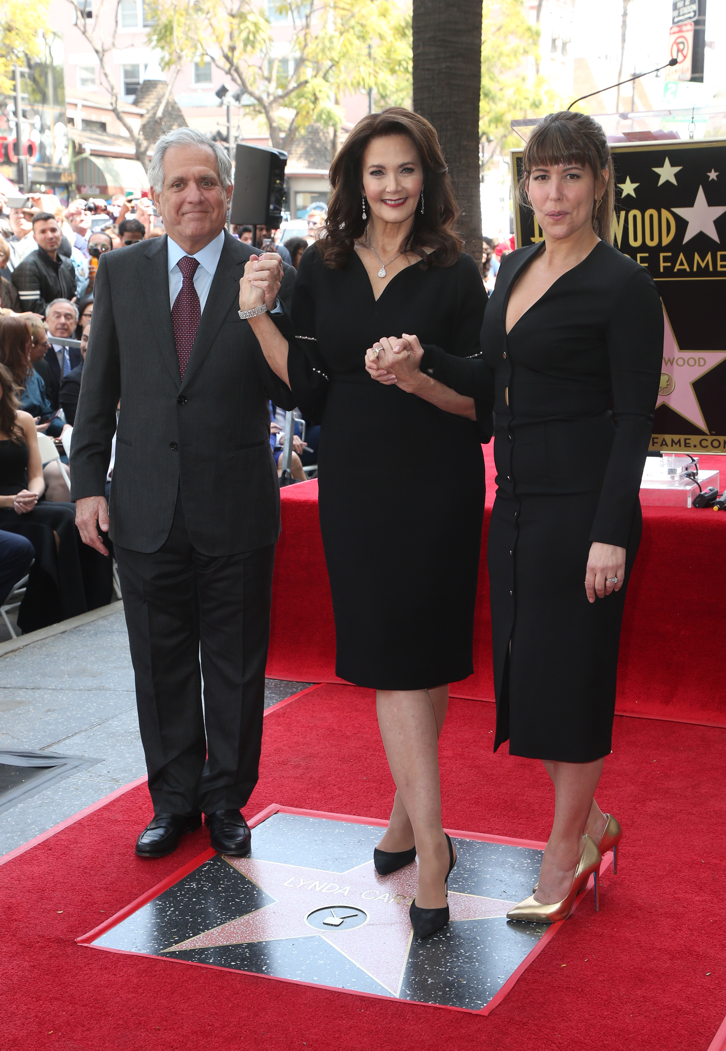 Lynda Carter Honored With Star On The Hollywood Walk Of FameFeaturing: Leslie Moonves, Lynda Carter, Patty JenkinsWhere: Hollywood, California, United StatesWhen: 03 Apr 2018Credit: FayesVision/WENN.com