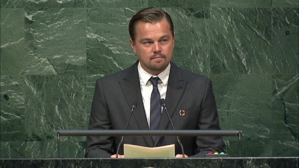 Leonardo DiCaprio: 'Our planet cannot be saved unless...'