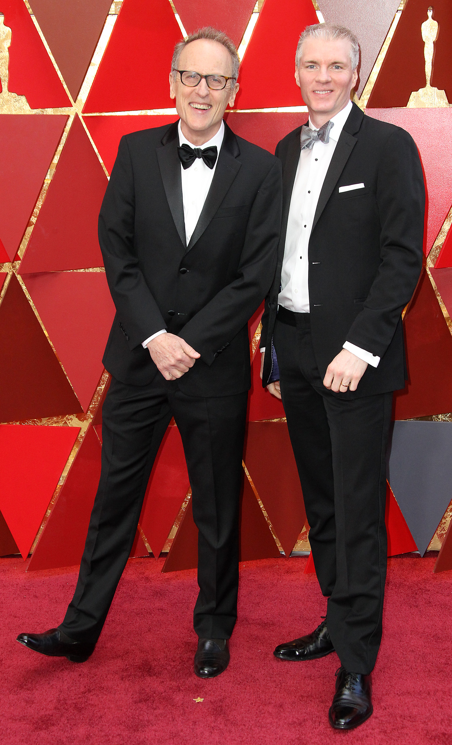 Thomas Lennon and Brandon Chrostowski{&nbsp;}arrive at the 90th Annual Academy Awards (Oscars) held at the Dolby Theater in Hollywood, California. (Image: Adriana M. Barraza/WENN.com) <p></p>