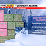 Winter Storm Warnings, Advisories to go into effect for area counties