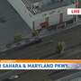 Pedestrian struck by vehicle near Sahara, Maryland Parkway