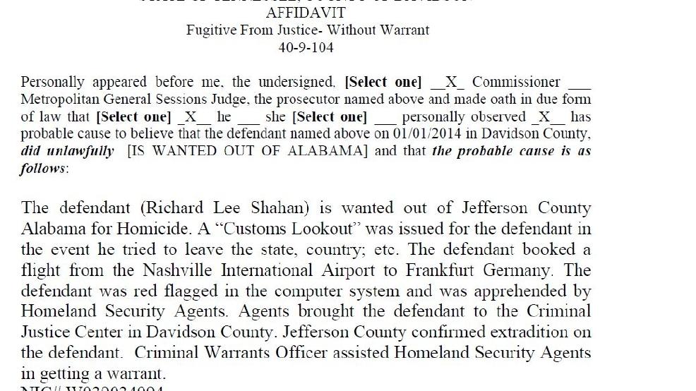 UPDATED: Pastor Richard Shahan arrested in Nashville   WBMA