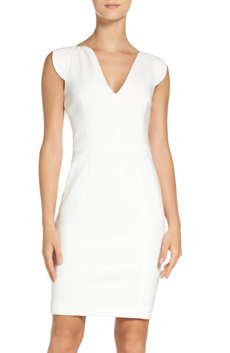 French Connection Lolo Stretch Sheath Dress, $188,  Nordstrom.com (Image: Courtesy Nordstrom)