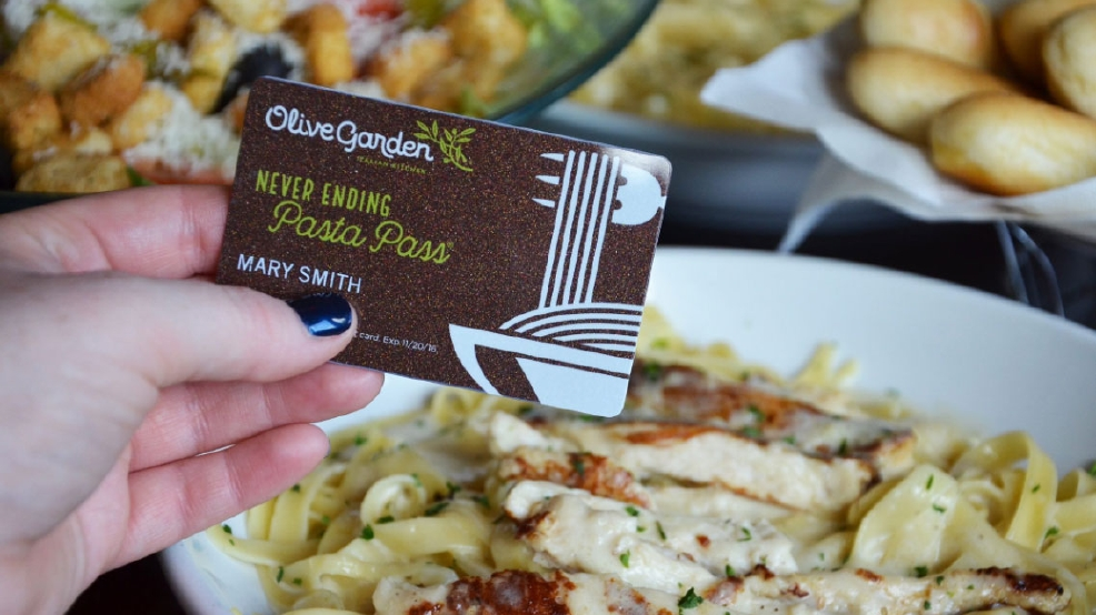 get your forks ready olive garden offers up 21000 never ending pasta passes - Olive Garden Beaverton