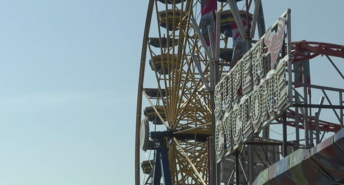 The Oklahoma Department of Labor inspected rides at the Oklahoma State Fair Sept. 13. (KOKH/Will Maetzold)