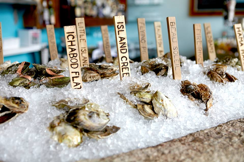 Oysters at Eventide Oyster Co. (Image: Courtesy Eventide Oyster Co.)